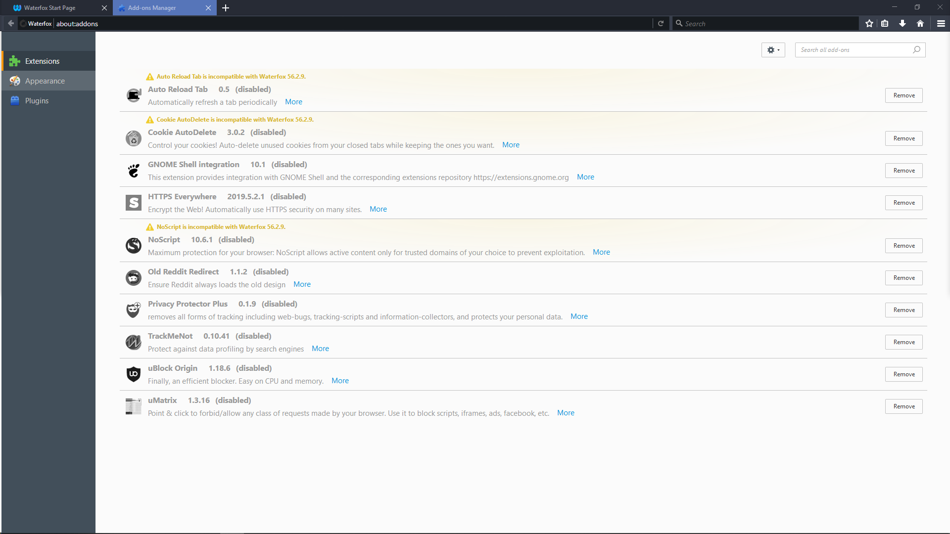 All my Firefox addons stopped working - Linux - Level1Techs Forums