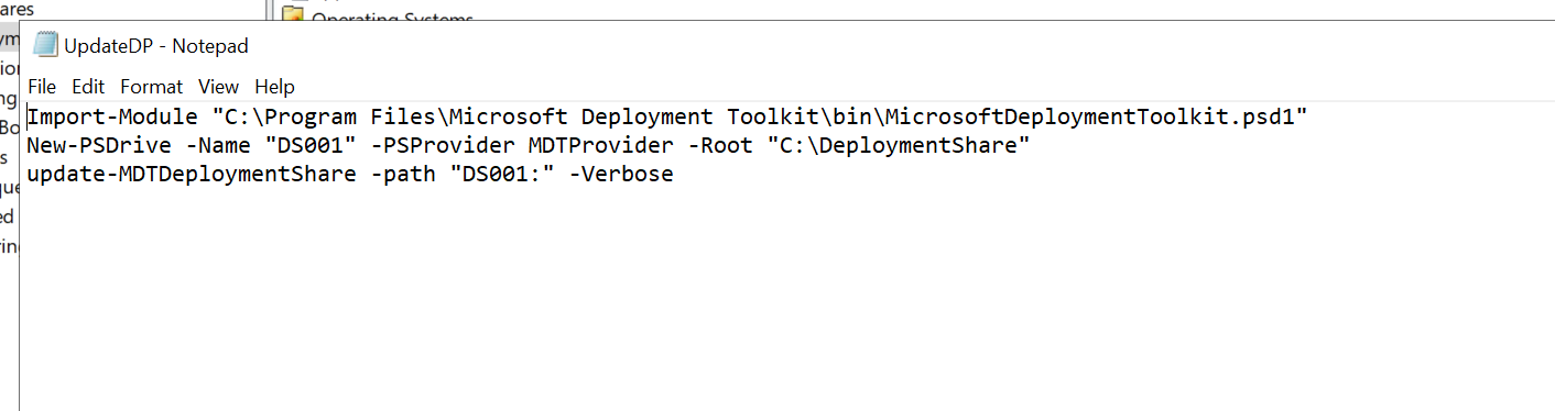 Microsoft Deployment Toolkit connection issues - Windows